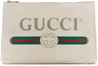 Gucci logo clutch