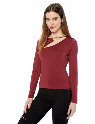 GUESS Women's Long Sleeve Cheryl TOP