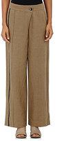 Pas De Calais Women's Foldover Pants-BEIGE, TAN