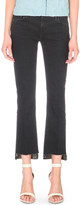 J Brand Selena skinny stepped-hem mid-rise jeans