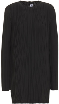 Victoria Victoria Beckham Pleated Crepe Top