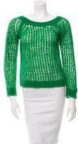 Vanessa Bruno Open Knit Scoop Neck Sweater