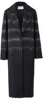 Amanda Wakeley Ishi Black Jacquard Coat