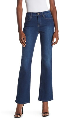 NYDJ Barbara Mid Rise Bootcut Jeans