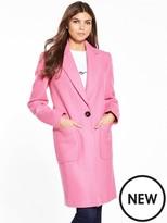 Miss Selfridge Pink Coat