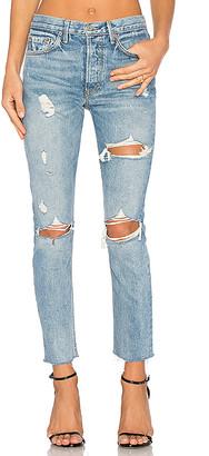 GRLFRND PETITE Karolina High-Rise Skinny Jean. - size 28 (also