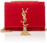 Saint Laurent Women's Monogram Kate Small Chain Bag-RED