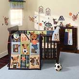 Lambs & Ivy Bow Wow 9-Piece Crib Bedding Set by