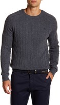 Brooks Brothers Wool Cable Crew Sweater