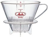 Melitta coffee filters [4-8] major cups with a spoon SF-M 1 x 4 (japan import)