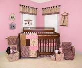 Trend Lab Sweet Safari Pink 4 Piece Crib Bedding Set by
