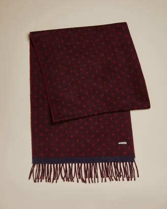 Ted Baker EARLHAM Spotted scarf