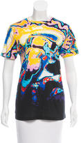 Christopher Kane Abstract Print Short Sleeve T-Shirt