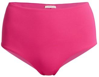 Eberjey Swim Pique Isla High-Waist Bikini Bottom