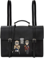 Dolce & Gabbana Black Designers Briefscase