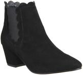 Office Isla Scalloped Topline Boots