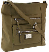 Tignanello As Is Pebble Leather Large Function RFID Crossbody