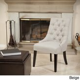 Christopher Knight Home Katrina Tufted Linen Dining Chair