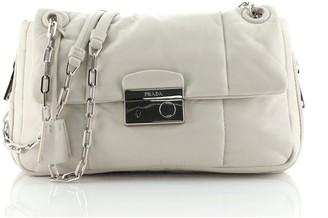 Prada Expandable Sound Bag Nappa Leather Medium