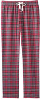 Joe Fresh Men's Plaid Flannel Sleep Pant, Dark Red (Size XXL)