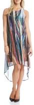 Karen Kane Women's 'Modern Art' Sleeveless High/low Dress