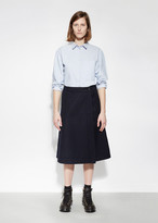 Mhl By Margaret Howell Front Wrap Skirt