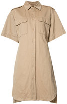 Marni loost-fit shirt dress - women - Cotton/Linen/Flax - 40
