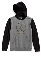 Volcom Toddler Boy's Faded Stone Logo Pullover