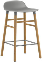 Normann Copenhagen Form Barstool - Oak - Grey