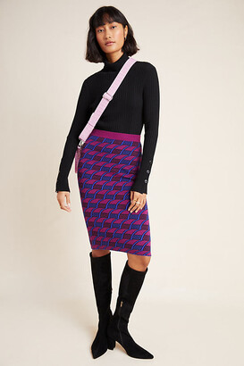 Maeve Nancy Sweater Pencil Skirt By in Assorted Size XS