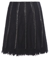 Alexander Wang Embellished Cotton-blend Skirt