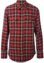 DSQUARED2 checked 'Western' shirt