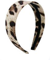 Dolce & Gabbana animal pattern head band