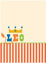 Jonathan Adler WallPops Leo Board Dry Erase Wall Decal