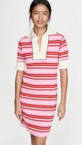 Marni Striped Dress with Collar