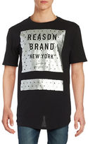 Reason Metallic Logo Tee