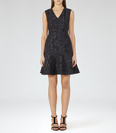 Reiss Saffy Jacquard Dress
