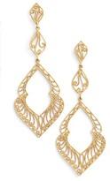Argentovivo Women's Marquee Drop Earrings
