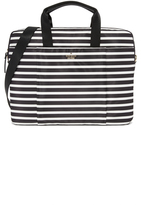Kate Spade Stripe Nylon Laptop Bag