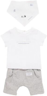 Givenchy T-Shirt, Reversible Shorts & Bandana