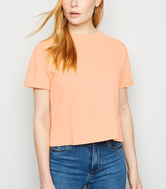 New Look Bright Boxy Crop T-Shirt
