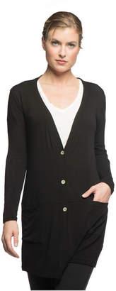 Yala Leslie Long Sleeve Oversize Viscose from Bamboo Knit Cardigan