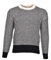 Ami Alexandre Mattiussi Ami Contrast Detail Sweater