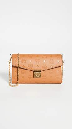 MCM Millie Monogrammed Small Crossbody Bag