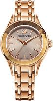 Swarovski Women's Swiss Alegria Rose Gold-Tone Bracelet Watch 33mm 5188842