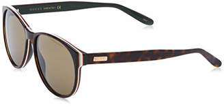 Gucci Unisex Adults' GG0271S-002 Sunglasses, Brown (Havana/Rojo/Negro Acetato)