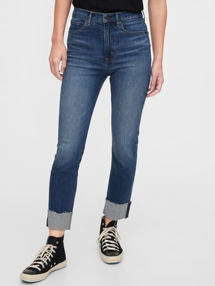 Gap High Rise Cigarette Jeans