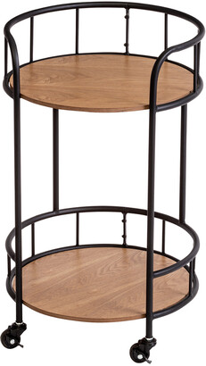 Honey-Can-Do 2-Tier Rolling Side Table