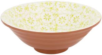 A By Amara Sugarbush Terracotta Salad Bowl - Green