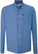Barbour Men's Gingham Long Sleeve Collar Shirt Tailored Fit